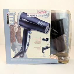 REMINGTON EMI AIRWAVE Ionic Ceramic Hair Dryer w Airwave Att