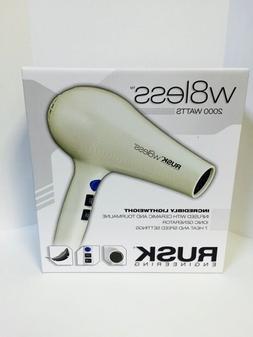 Rusk Engineering W8less 2000 Watts Ceramic & Tourmaline Hair