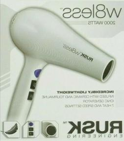 RUSK Engineering W8less Professional 2000 Watt Blow Dryer Ha