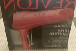 Revlon Essentials Frizz Control Styler  Ionic Hair Dryer lig