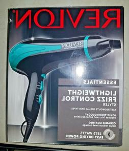 Revlon Essentials Hair Dryer 1875 Watt Ceramic Ionic, Green