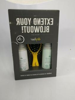 DRYBAR Extend Your Blowout Travel Kit 4 Piece Set NIB As Pic