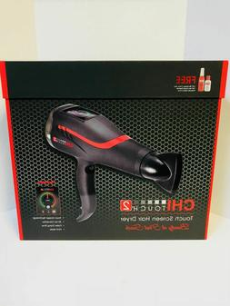 CHI FAROUK TOUCH SCREEN 2 LOW EMF PROFESSIONAL HAIR DRYER -