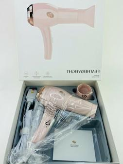 T3 Featherweight Hair Dryer in Pink with Free Diffuser 283 O