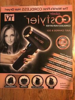 GO STYLER CORDLESS HAIR DRYER AS SEEN ON TV BRAND NEW