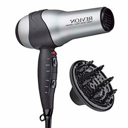 Hair Blow Dryer Volumizing Turbo Styler Infrared Tourmaline