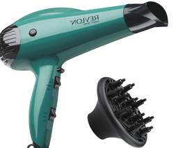Hair Dryer,1875W&Green, Diffuser&Concentrator