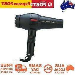 Twin Turbo Hair Dryer 2600 Hairdressing Diffuser Blow Quick