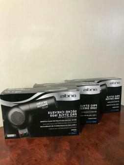 ANDIS PD-2A Hair Dryer,Handheld,Black,1600 Watts