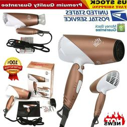 Hair Dryer JINRI-031 1875W Tourmaline Ceramic Travel Dryer F