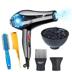 hair dryer professional 3000w negative ionic low