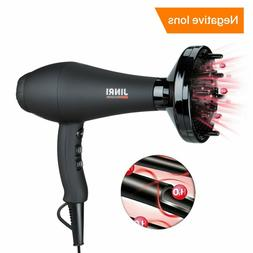 Jinri Hair Dryer Professional Salon 1875W Ac Motor Negative