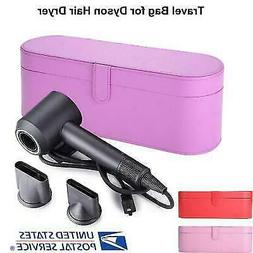 Hair Dryer PU Leather Storage Box for Dyson Supersoni Travel