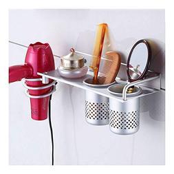 Hair Dryer Stand Storage Organizer Rack Holder Hanger Wall B