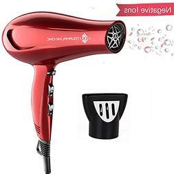 Hairdryer Negative Ionic Blow Dryer 1875w Professional Salon