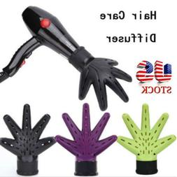 Hand Diffuser Hair Dryer Hairdressing Salon Curly Hair Style