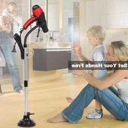 Hands Free Salon Blow Dryer Holder Adjustable Height Hair Dr
