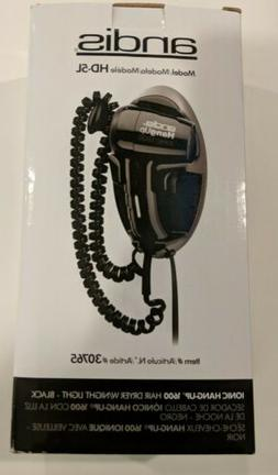 Andis Hang-Up HD-5L 1600W Hair Dryer - 1600 W - Ionic - Wall