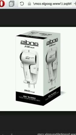 ANDIS HD-7L Hair Dryer,Wall Mounted,White,1600 Watts G609773