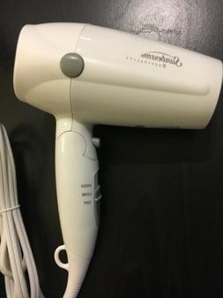 Sunbeam HD3005-001 1875 Watt Folding Hand-Held Hair Dryer, W
