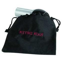 HOSPITALITY 1 SOURCE HDBAG Hair Dryer Bag, 12x12In, Black, C