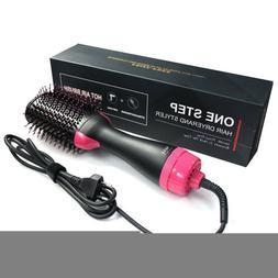 HOT! 2In1 One Step Hair Dryer&Volumizer Brush Styler Straigh