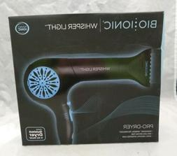 idry whisper light pro hair dryer black