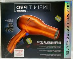 Infiniti PRO by Conair 1875 Watt Metallic Orange Hair Dryer
