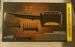 Infiniti Pro By GOLD 1875 Watt 3-in-1 Styler / Hair Dryer At