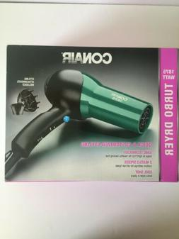 CONAIR IONIC HAIR DRYER 1875 W. 2 Heats/2 Speeds. Hinged Fil