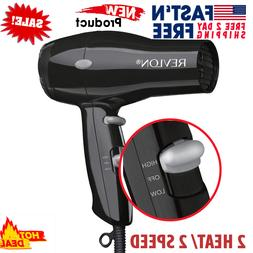 IONIC HAIR DRYER 1875W Travel Blow Professional Compact Turb