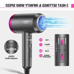Ionic Hair Dryer, CONFU Lightweight Negative Ionic Blow Drye