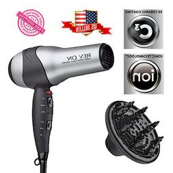 Ionic Hair Dryer Revlon Professional Turbo Blow 2 Speed Volu