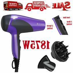 Ionic Hair Dryer Remington Professional Turbo Blow 2 Speed w