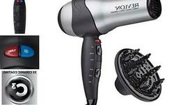 Ionic Hair Dryer W/ Diffuser Volumizing Turbo Blow Styler Co