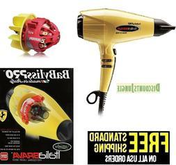 Babyliss Pro VOLARE Italia BFRV1 Salon Hair Dryer 2000W Ferr