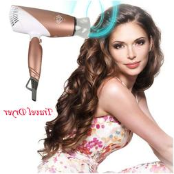 JINRI-031 110V 1875W Tourmaline Ceramic Travel Hair Dryer Li