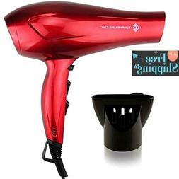 JINRI 1875W Tourmaline Hair Dryer,Salon Negative Ionic Blow