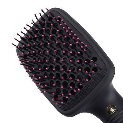 110V 2in1 Multifunctional Anion Hair Dryer Brush Styler