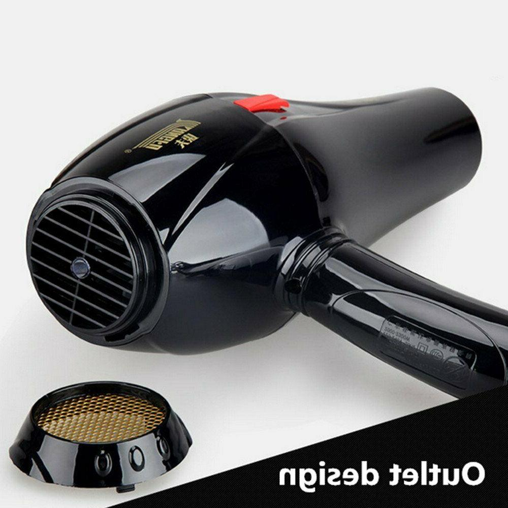 REBUNE 110V 2300W Professional Hair Anion LCD Screen