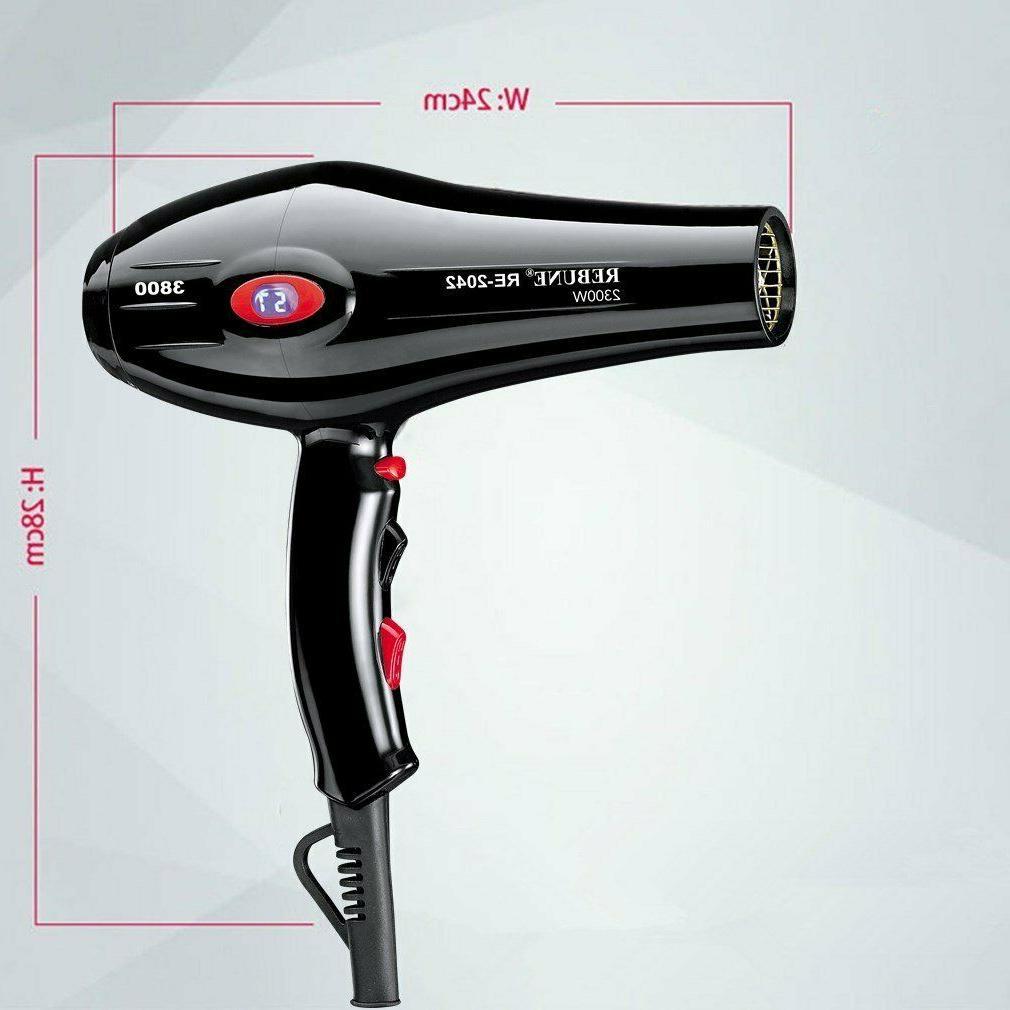 REBUNE 110V Hair Dryer Anion Screen Motor