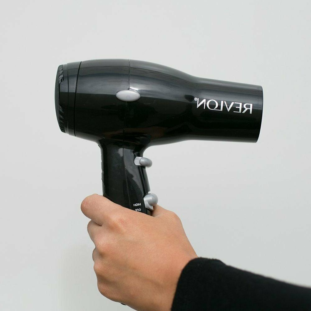 Revlon 1875W Hair Dryer Travel Professional Ionic Turbo Blow 2 Speed