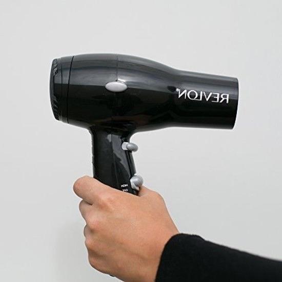 Revlon 1875W Compact Desing Travel for men Hair Dryer Genuin