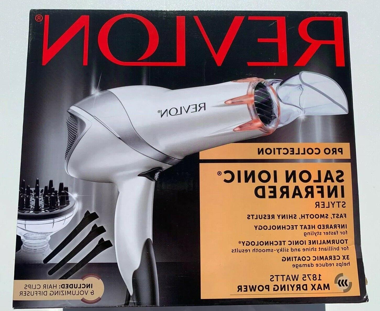 1875w damage protection infrared hair dryer
