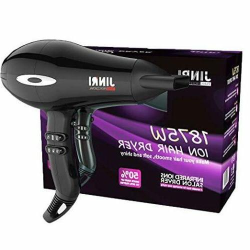 Lightweight Fast Drying Hair Blow Dryer Negative Lonic Home/