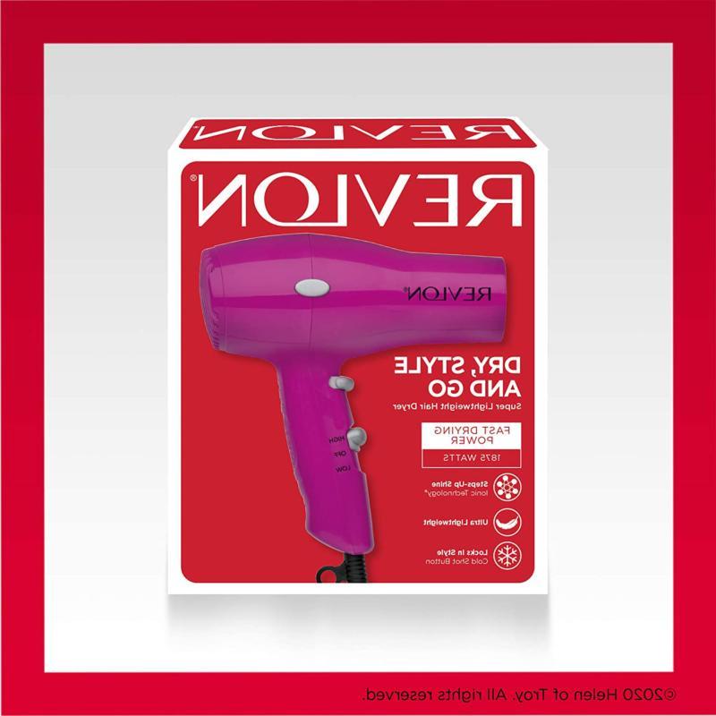 REVLON Hair Blow Dryer Compact Travel