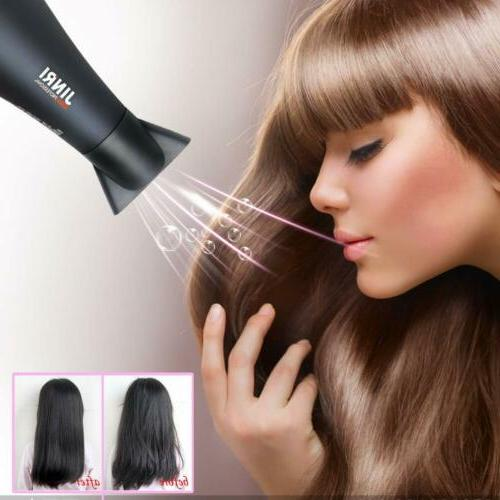 JINRI 1875W Negative Ions Hair Hot Blow Heating Power US Stock