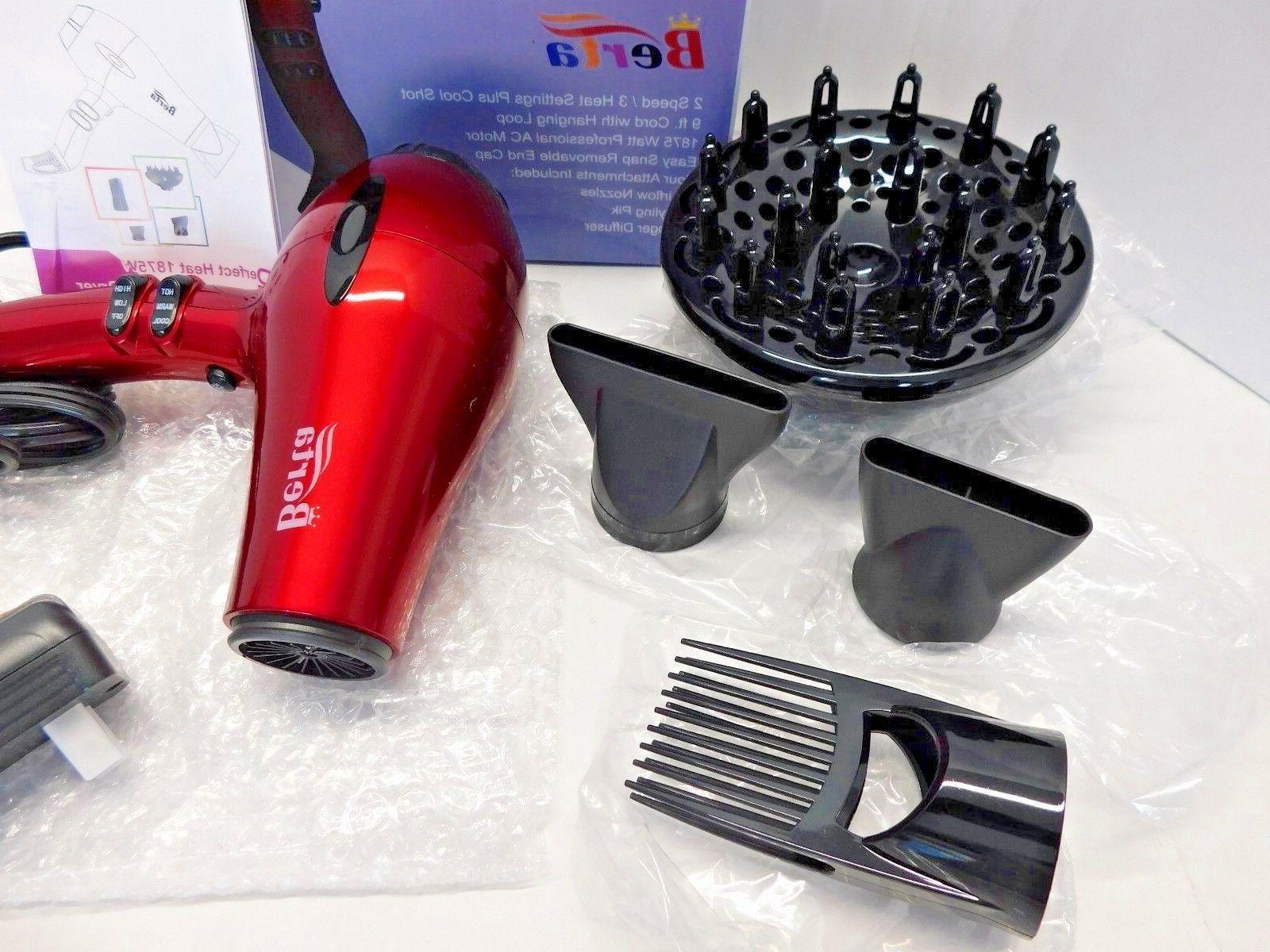 Berta Speed & Heat Hair With Accessories,