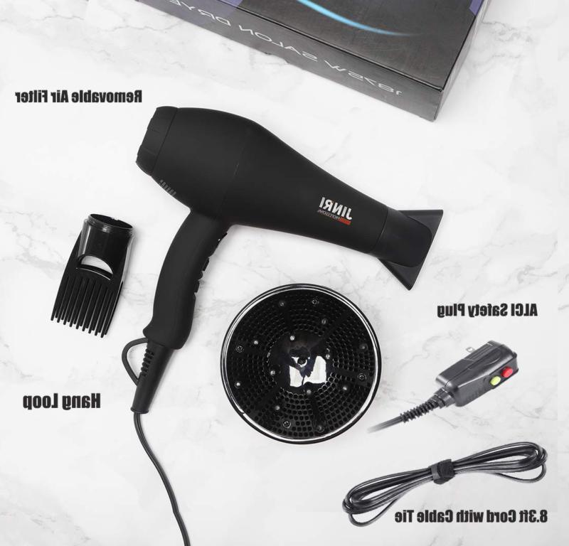 1875w professional salon infrared hair dryer negative