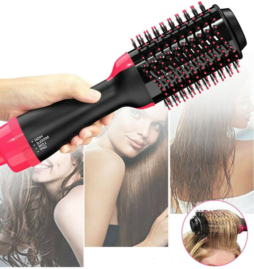 2 in 1 hair blow dryer volumizer